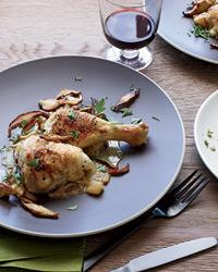 Braised Chicken with Apples and Calvados-foodflag