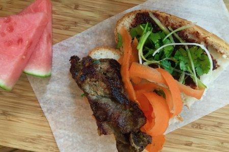 Quick Dinner: Bulgogi Steak Sandwich Recipe