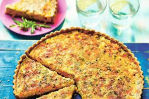 Sweetcorn Chilli Quiche Recipe