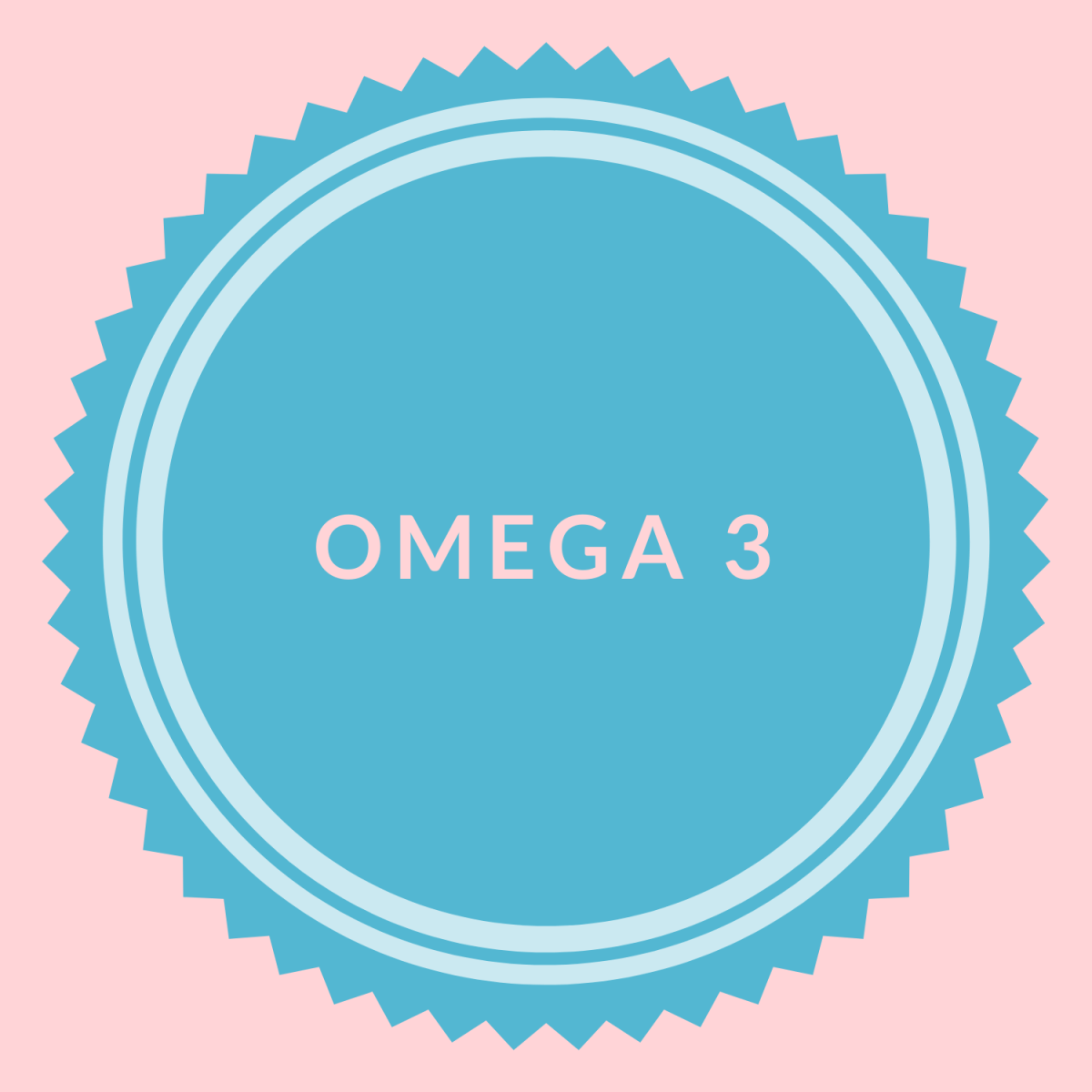 vegan omega 3 logo for health and nutrition article
