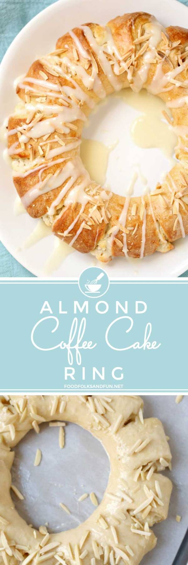 The best Almond Coffee Cake Ring!