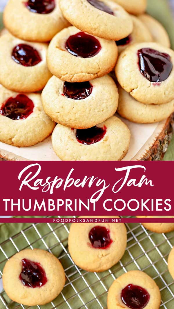 Jam Thumbprint Cookies recipe