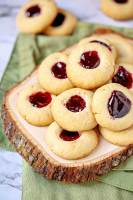 Jam Thumbprint Cookies variations