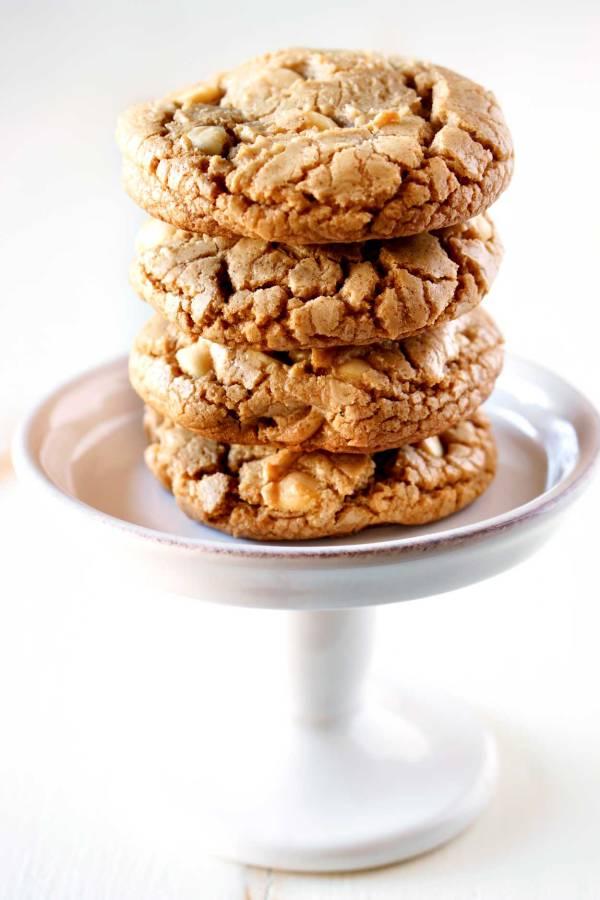 White Chocolate Macadamia Nut Cookies for bake sales