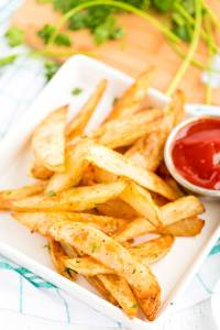 Crispy Baked Oven Fries recipe