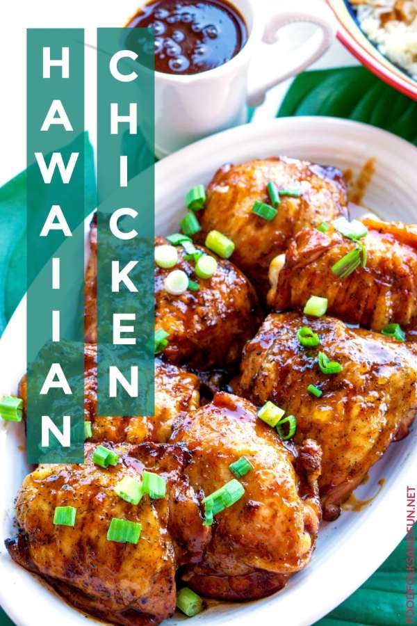 The BEST Hawaiian Chicken recipe!