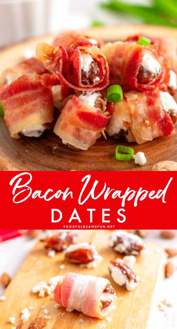 Delicious and Savory Bacon Wrapped Dates