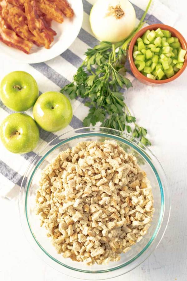 Ingredients for Apple Stuffing