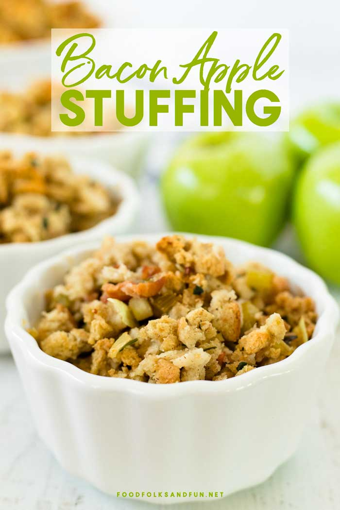 Thanksgiving Stuffing: Apple Stuffing