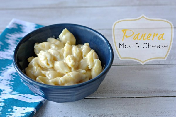 Panera's Mac & Cheese Copycat Recipe