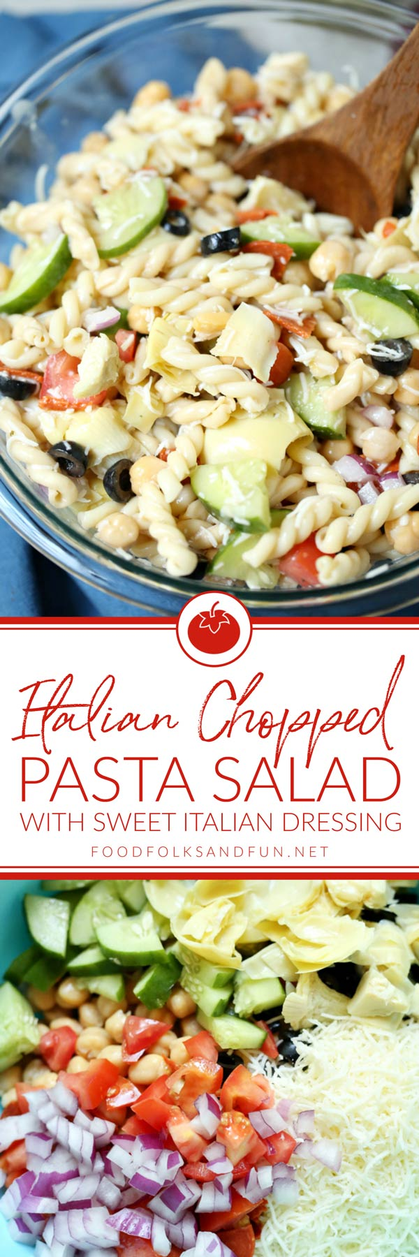 The best ever Italian Pasta Salad recipe!