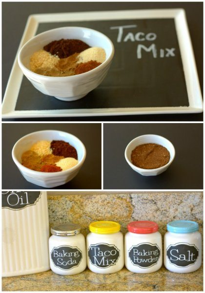 Homemade Taco Mix