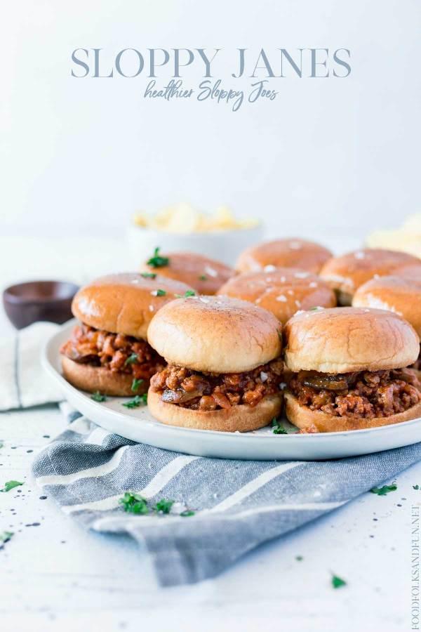 Quick and Easy Sloppy Jane Sandwich recipe.