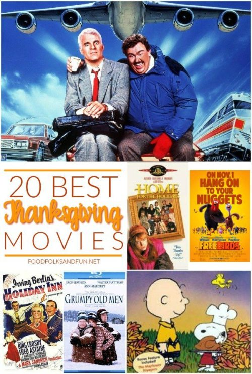 20 BEST Thanksgiving Movies