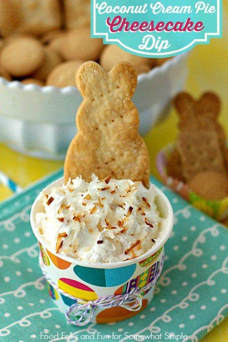 Coconut Cream Pie Cheesecake Dip