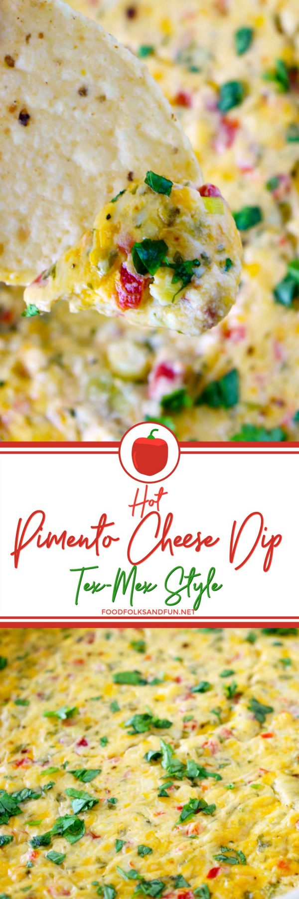 Hot Pimento Cheese Dip - the stuff your geese-filled dreams are made of!