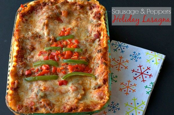 Sausage_Peppers_Holiday_Lasagna