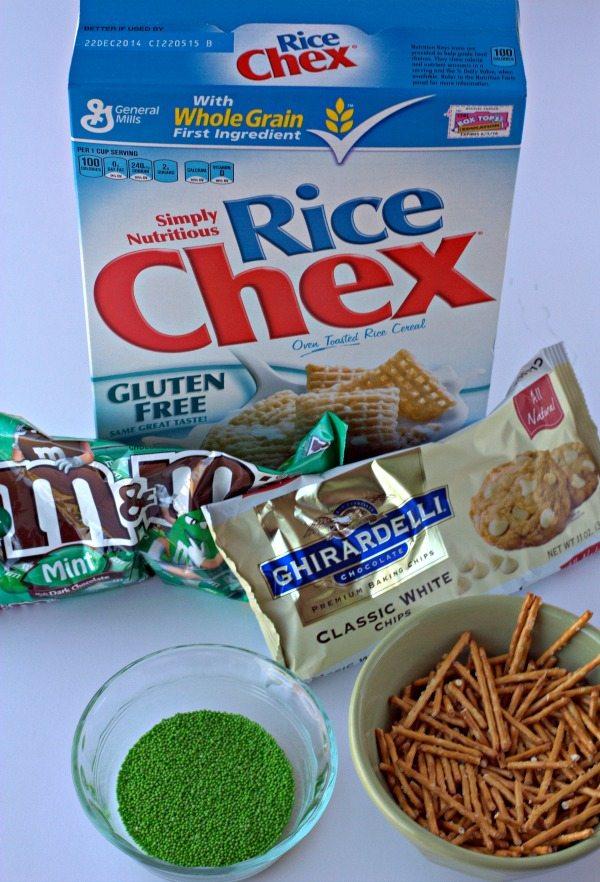 Leprechaun Bait Chex Mix Ingredients