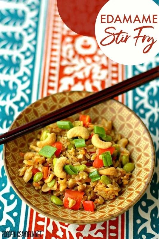Best-Ever Edamame Stir Fry Recipe
