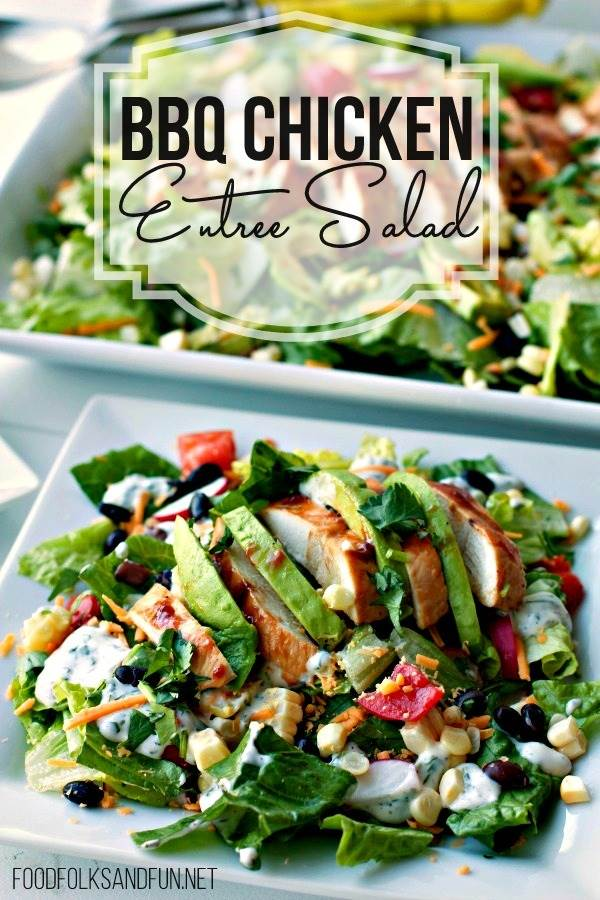 BBQ Entree Chicken Salad Recipe