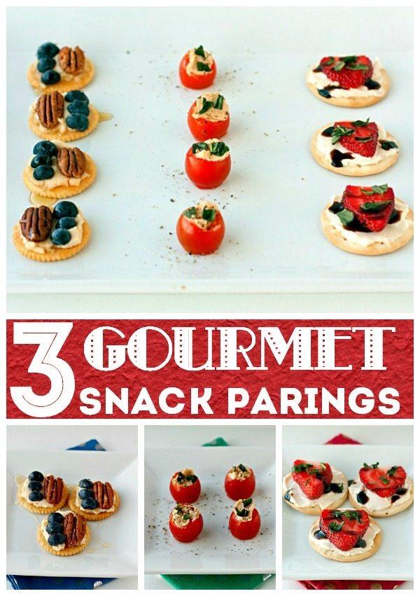 3 Gourmet Snack Parings