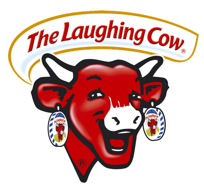 Logo for the Laughing Cow cheese brand