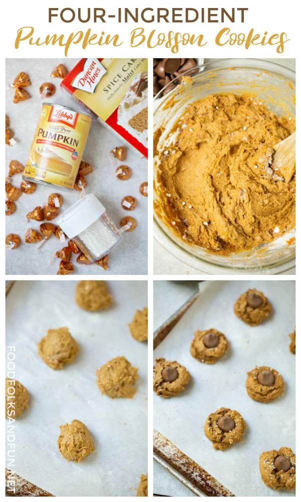 How to Make Four Ingredient Pumpkin Cookies