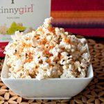 A bowl of Spiced Parmesan Popcorn