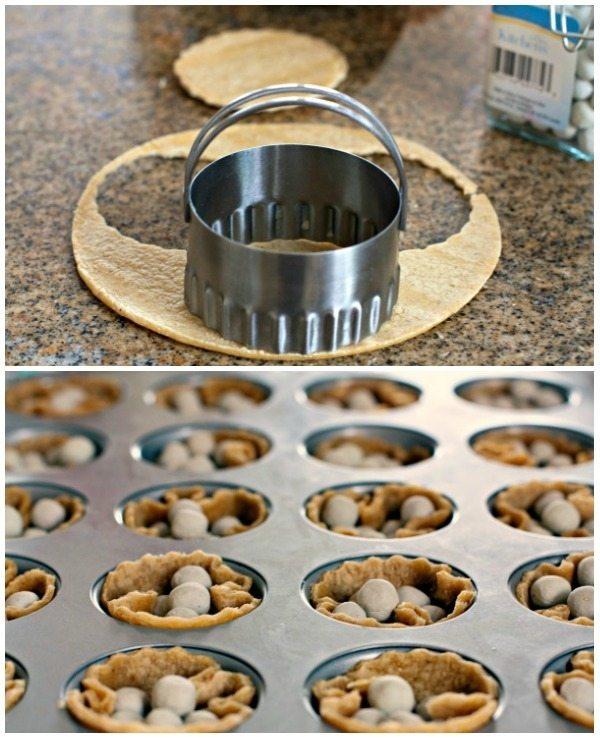 How to Make Mini Taco Salad Cups