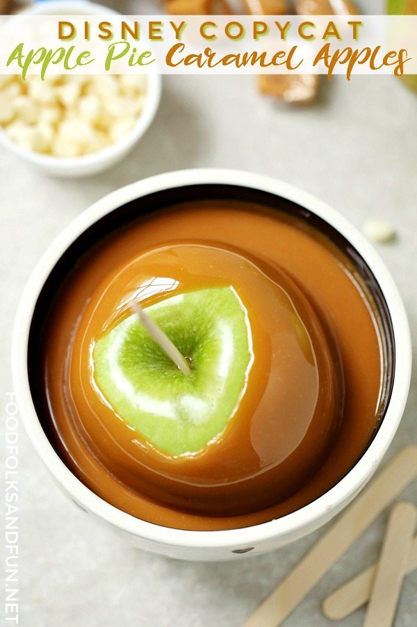 Dipping Caramel Apples