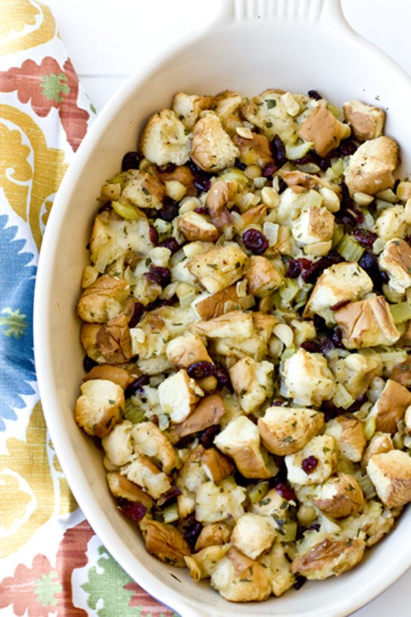 Cranberry Macadamia Nut Stuffing 4