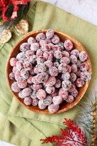 Sugared Cranberries Tutorial