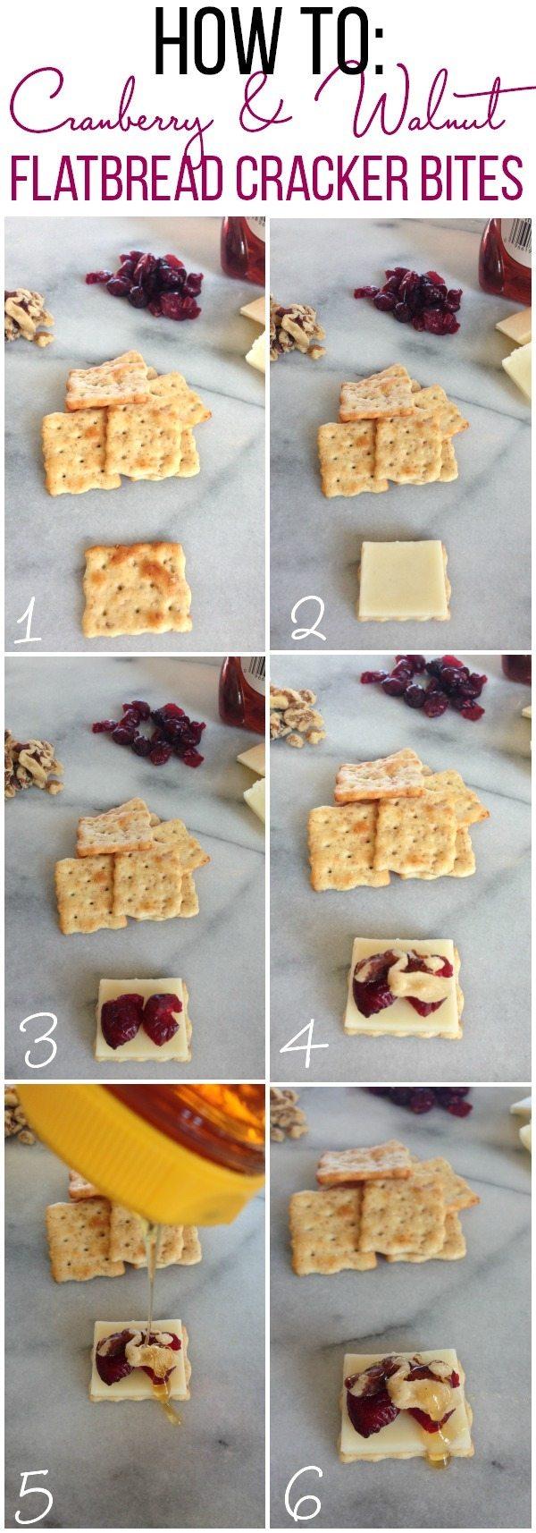 How to make Flatbread Cracker Bites