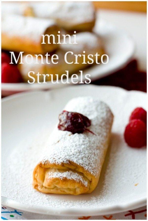 Mini Monte Cristo Strudels 1