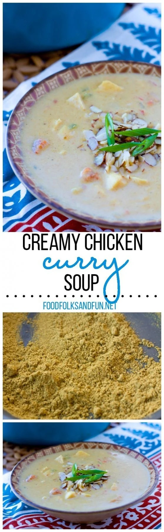 Creamy Chicken Curry Soup