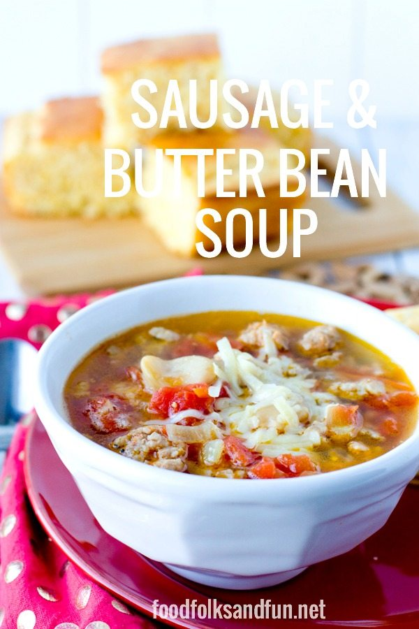 Sausage & Butter Bean Soup 30 minute recipe 4
