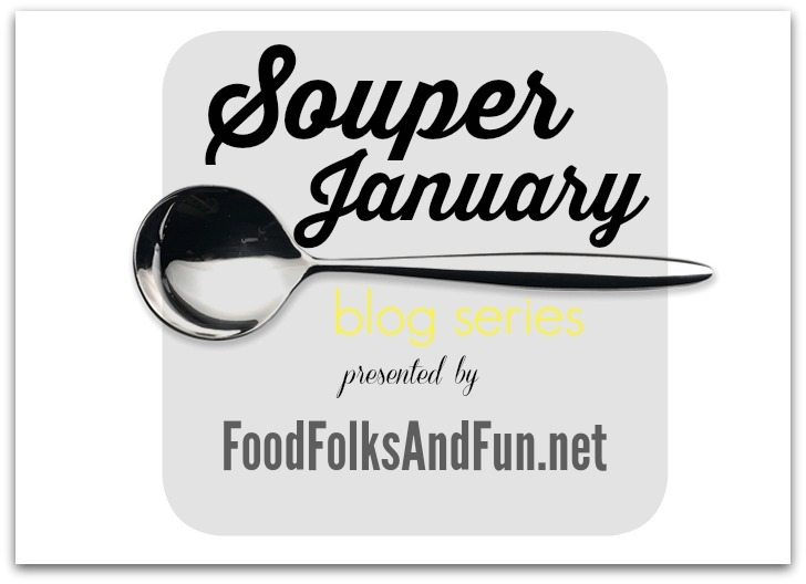 Clip art for a collection of soups for Souper January