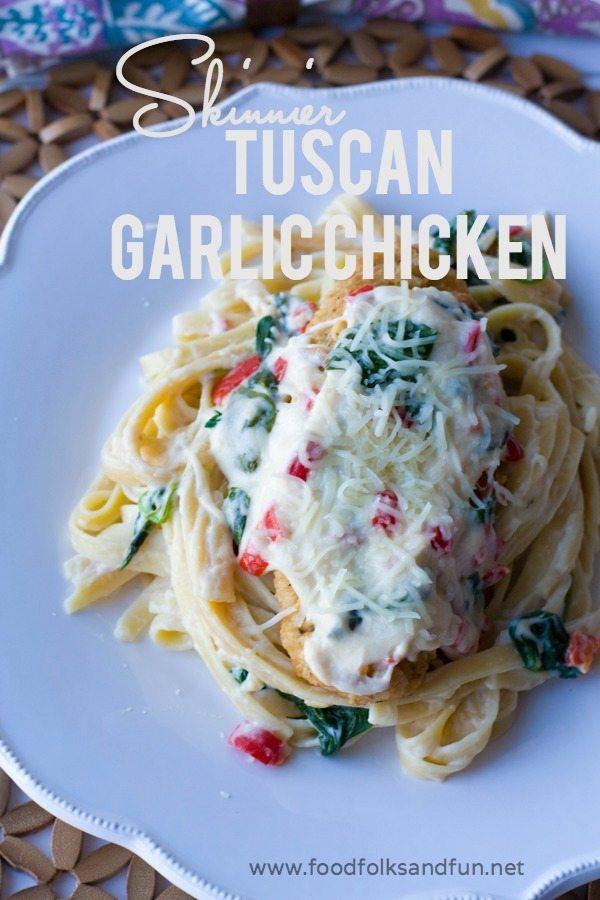 Skinnier Tuscan Garlic Chicken Recipe 6