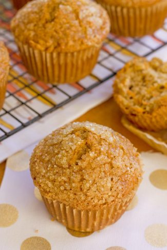 Healthy Carrot Cake Muffins Recip for Spring