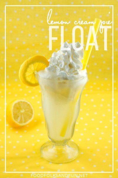 Lemon Cream Pie Float Recipe