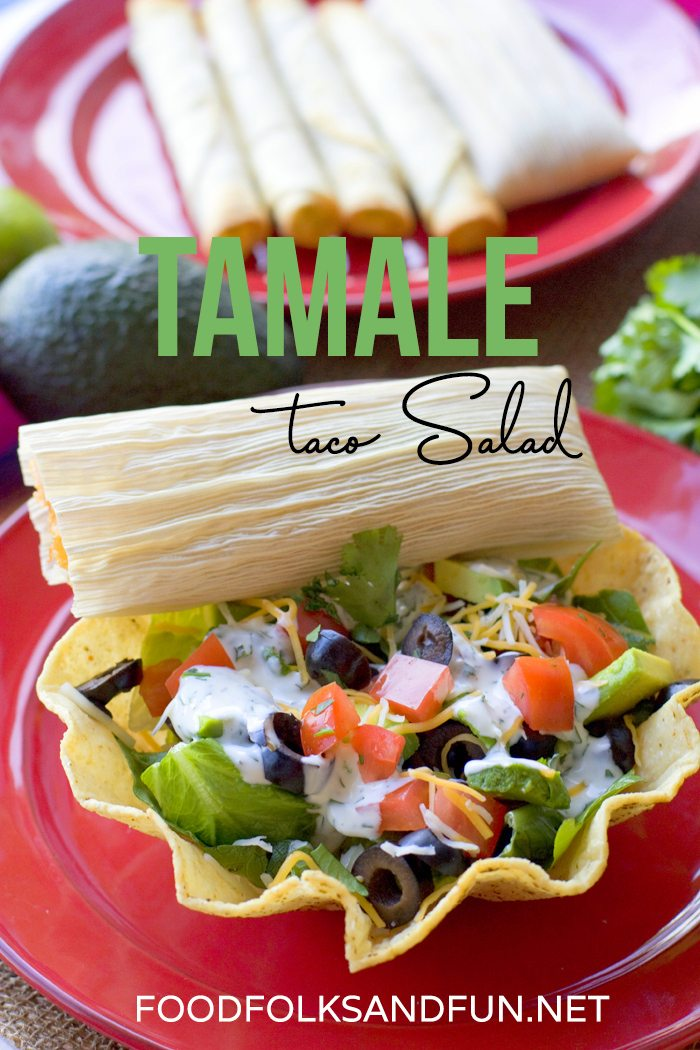 Tamale Taco Salad