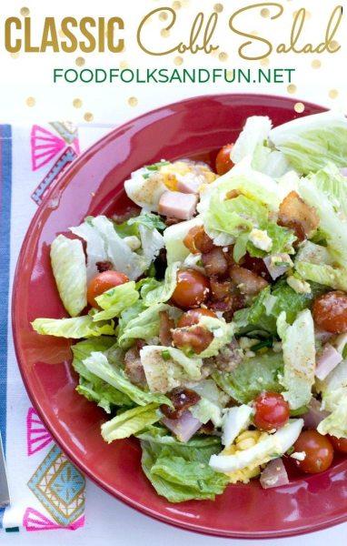 Classic Cobb Salad Recipe