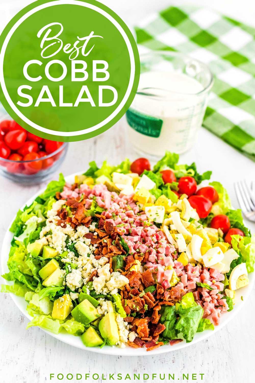 COBB SALAD RECIPE FOOD FOLKS AND FUN
