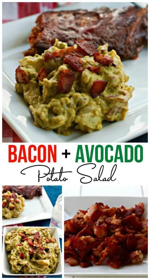 Bacon and Avocado Potato Salad Recipe