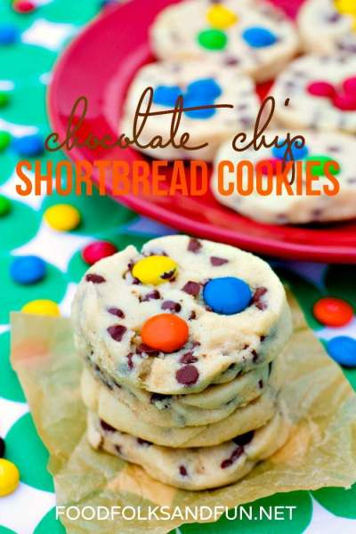 Chocolate Chip Shortbread Cookies Recipe
