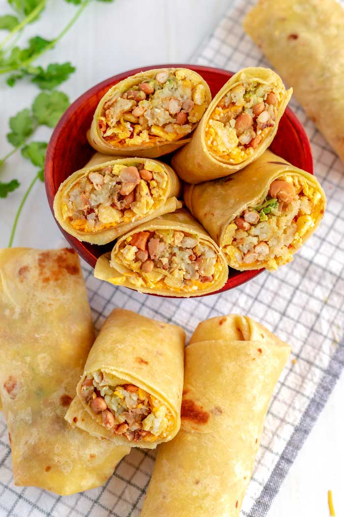 Big breakfast burrito recipe
