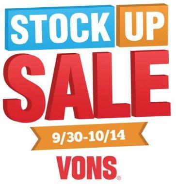 VONS Stock Up Sale