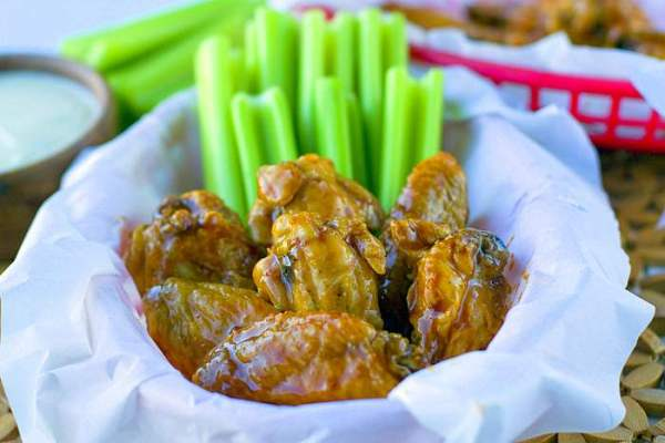 These Dr Pepper Hot Wings are sweet, spicy and so delicious! They're an easy game day recipe!