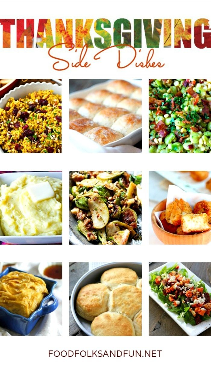 To help with your recipe preparations I collected some of my favorite Thanksgiving Side Dishes for your holiday table!