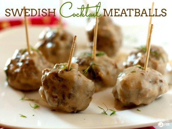These Swedish Cocktail Meatballs are the perfect bites for game day, holidays, or even meal time. You can even make them head of time!